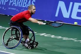 Mobilité tennis fauteuil