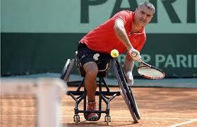 Coup inversé tennis fauteuil- Stéphane Houdet