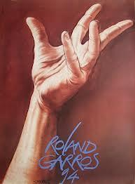 Affiche Roland Garros 1994