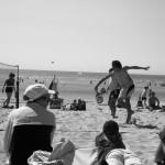 Faire du beach tennis