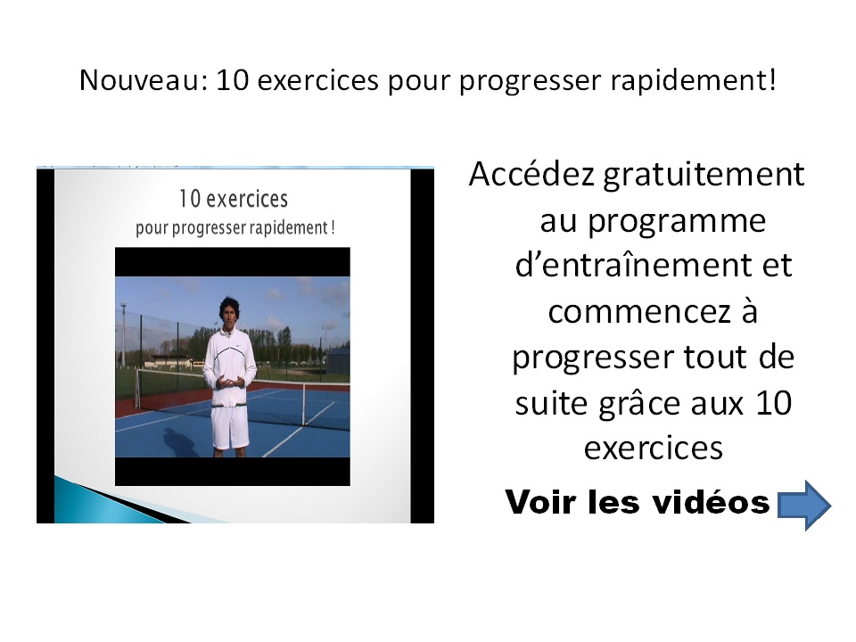 Apprendre le tennis