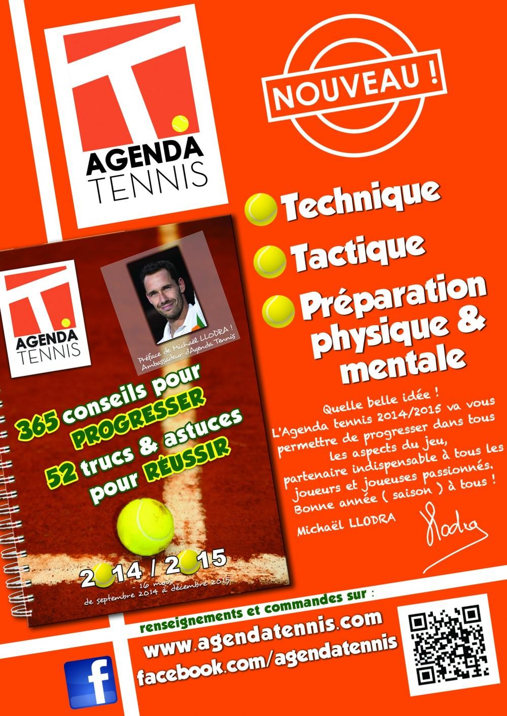 Acheter agenda tennis